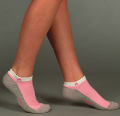 Juzo Silver Sole Breast Cancer Socks